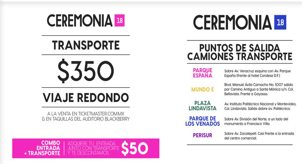 Foto de la nota Como cada año, Festival Ceremonia tendrá transporte que saldrá desde varios puntos