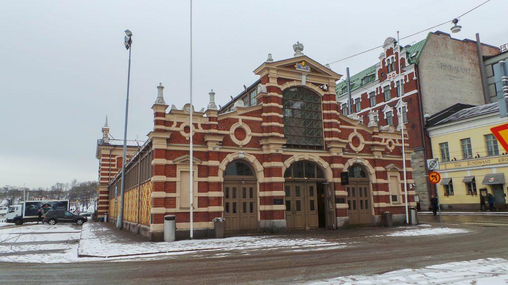 Helsinki, mercado cubierto, más antiguo